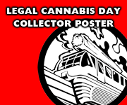 Legal Cannabis Day Collector Poster